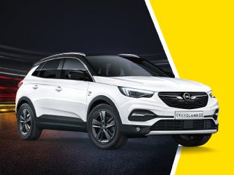 Opel GRANDLAND X por 345€/mês* na Caetano Technik