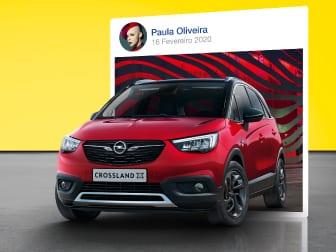 Novo Opel Crossland X