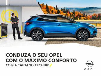 Campanha Outono-Inverno: Conduza o seu Opel com o máximo conforto.